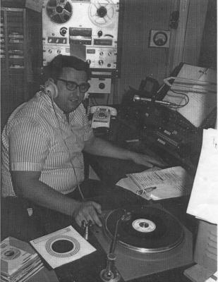 "Mel Simas-Radio Station ""KCOK"", Tulare, California"